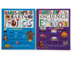 2-Pack Hands-on! Science/Art Books 1