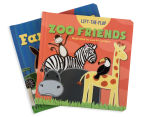 2-Pack Lift The Flap Books - Farm/Zoo 2