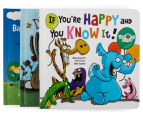 3-Pack Kids Books - If You're Happy And You Know It!, Do Your Ears Hang Low? & Baa, Baa, Black Sheep 3