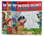 4-Pack Beginner Word Hunt Puzzle Books 3