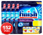 4 x Finish Powerball Quantum Max Shine & Protect Dishwashing Caps Lemon Sparkle 38pk 1