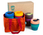 KeepCup Assorted Original Reusable Cups 4-Pack w/ Carry Bag 1