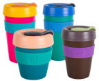 KeepCup Assorted Original Reusable Cups 4-Pack w/ Carry Bag 4