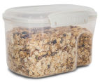 Sistema 1.56L Bake It Container w/ Measuring Cup - ClearClear/White 2