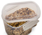 Sistema 1.56L Bake It Container w/ Measuring Cup - ClearClear/White 4