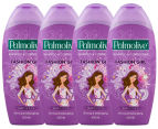 4 x Palmolive Fashion Girl 2-in-1 Shampoo & Conditioner Berrylicious 400mL 1