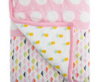 Little Cloud Berry Sweet Quilt - Pink/Multi 5