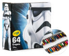 Crayola 64 Crayon Box Star Wars Stormtrooper Limited Edition 1