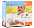 6 x Bellamy's Organic Toothiepegs Teething Milk Rusks 100g 2