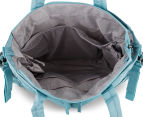 Bellotte Village On-The-Go Tote Nappy Bag - Light Blue Dot 3