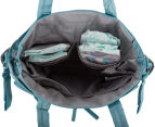 Bellotte Village On-The-Go Tote Nappy Bag - Light Blue Dot 4