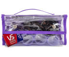 VS Sassoon Travel Hair Accessory 12pc Gift Set - Purple 1