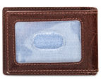Tommy Hilfiger Men's York Front Pocket Wallet - Tan 2