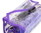 VS Sassoon Travel Hair Accessory 12pc Gift Set - Purple 3