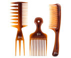Goody Mosaic Six Pack Comb Set - Caramel  4