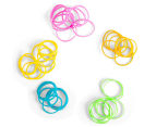 2 x Goody Girls Mini Elastics w/ Flower Case - Randomly Selected 6