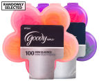 2 x Goody Girls Mini Elastics w/ Flower Case - Randomly Selected 1