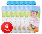 6 x Bellamy's Organic Chicken, Sweet Potato & Cous Cous Baby Food 110g 1