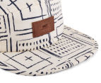 OBEY Riviera 5-Panel Cap - Cream/Multi 5