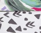 KAS Liliko King Bed Quilt Cover Set - Multi  5