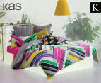 KAS Bermuda King Bed Quilt Cover Set - Multi  1