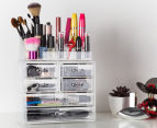 22-Compartment Acrylic Cosmetic Organiser 1