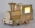 Lumi Co by Delight Decor 3D LED Timber Table Lamp - Train 1
