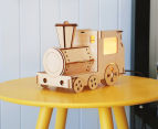 Lumi Co by Delight Decor 3D LED Timber Table Lamp - Train 2