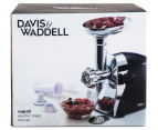 Davis & Waddell Napoli Electric Meat Mincer - Black/Silver 1