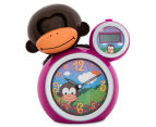 BabyZoo Sleep Trainer Clock - Pink 1