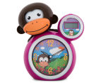 BabyZoo Sleep Trainer Clock - Pink 2