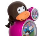 BabyZoo Sleep Trainer Clock - Pink 5