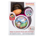 BabyZoo Sleep Trainer Clock - Pink 6