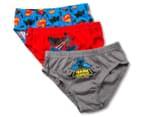 Batman vs Superman Kids' Briefs 3-Pack - Multi  1