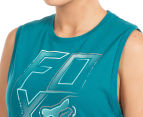 Fox Women's Whirlwind Roll Tank - Emerald  6