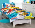 Paw Patrol Single Bed Quilt Cover Set - Multi 1