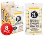 8 x 247 Yoghurt Bites Apricot & Berry 70g  1