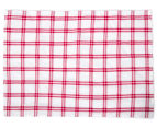 5-Pack 50x70cm Tea Towels - Red 4