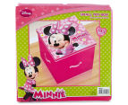 Set of 3 Minnie Mouse Toy Boxes - Pink 4