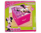 Set of 3 Minnie Mouse Toy Boxes - Pink 5
