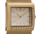 Fiorelli Women's 32mm Metallic Mesh Watch - Gold 2