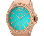 Fiorelli Women's 40mm Alice Watch - Rose Gold/Turquoise 3