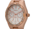 Fiorelli Women's 40mm Ibisco Watch - Rose Gold 3