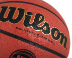 Wilson NBL Officiall Game Ball Official Size Basketball - Orange  4