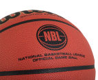 Wilson NBL Officiall Game Ball Official Size Basketball - Orange  5