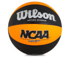 Wilson NCAA MVP Official Size Basketball - Orange/Black  1