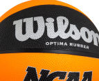 Wilson NCAA MVP Official Size Basketball - Orange/Black  4