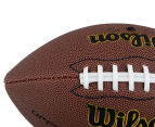 Wilson NFL Tackified Composite Leather Football - Brown 5