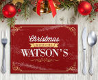 3 x Personalised Christmas 28x20cm Placemats 5