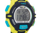 Timex Men's 30-Lap Rugged Sports Watch - Blue/Lime Green  2